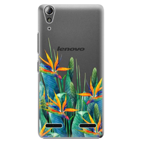Plastové puzdro iSaprio - Exotic Flowers - Lenovo A6000 / K3