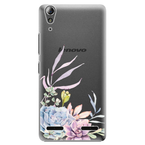 Plastové puzdro iSaprio - Succulent 01 - Lenovo A6000 / K3