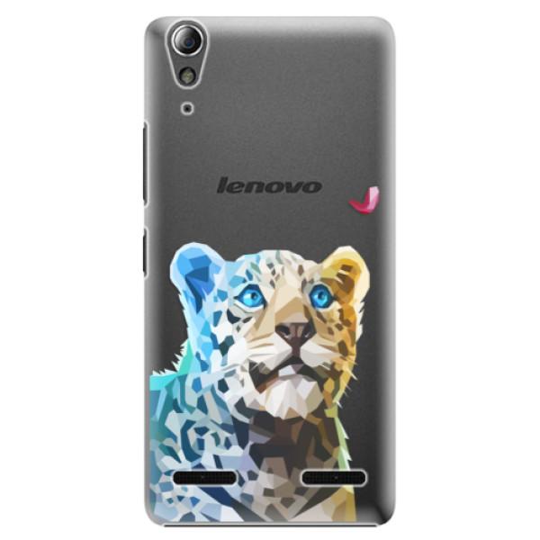 Plastové puzdro iSaprio - Leopard With Butterfly - Lenovo A6000 / K3