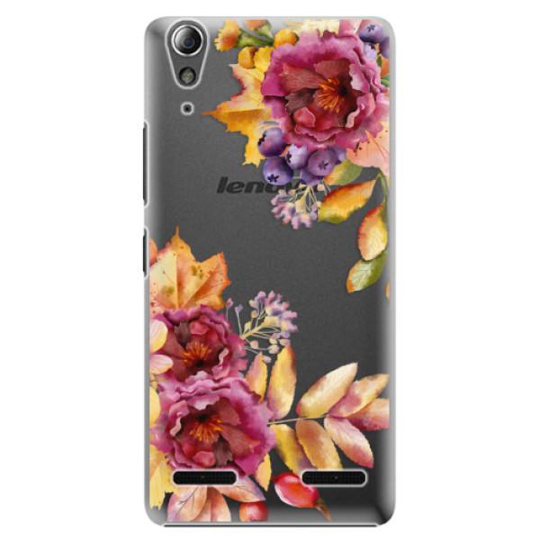 Plastové puzdro iSaprio - Fall Flowers - Lenovo A6000 / K3