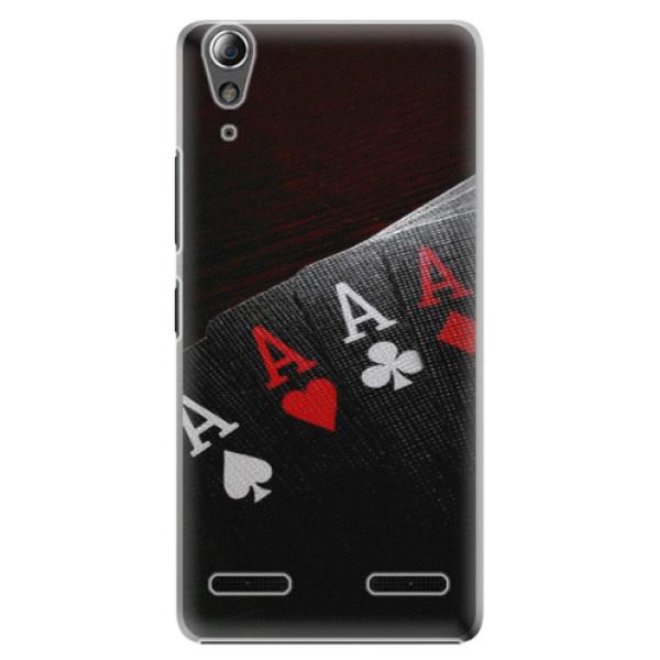 Plastové puzdro iSaprio - Poker - Lenovo A6000 / K3