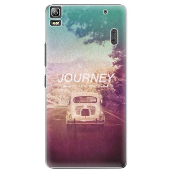 Plastové puzdro iSaprio - Journey - Lenovo A7000