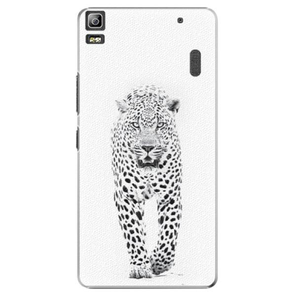 Plastové puzdro iSaprio - White Jaguar - Lenovo A7000