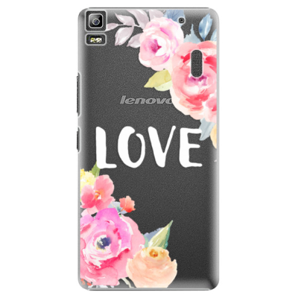 Plastové puzdro iSaprio - Love - Lenovo A7000