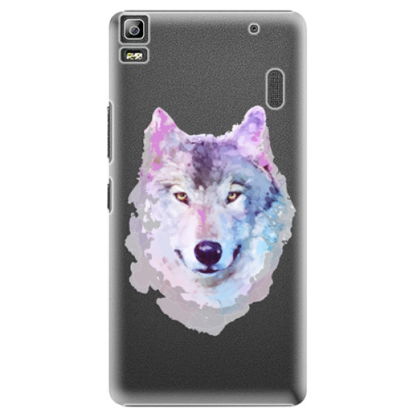 Plastové puzdro iSaprio - Wolf 01 - Lenovo A7000