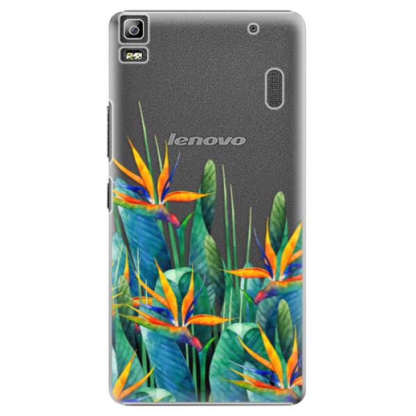 Plastové puzdro iSaprio - Exotic Flowers - Lenovo A7000