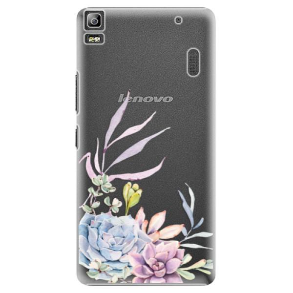 Plastové puzdro iSaprio - Succulent 01 - Lenovo A7000