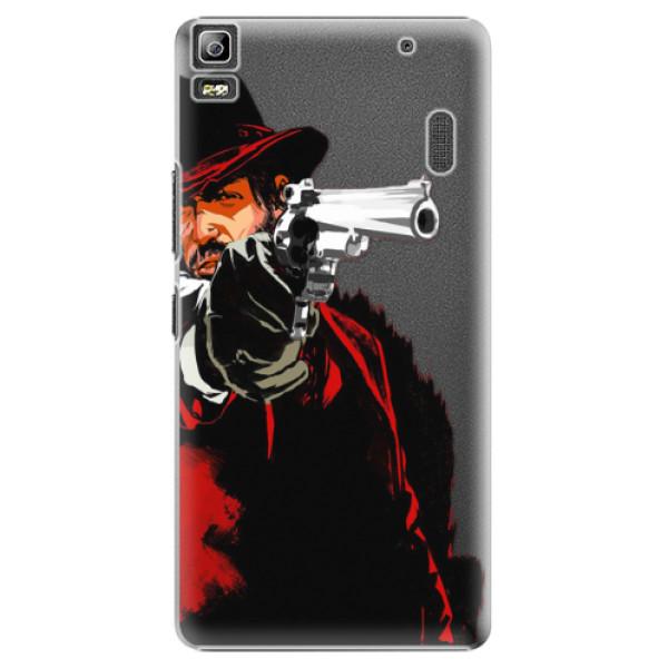 Plastové puzdro iSaprio - Red Sheriff - Lenovo A7000