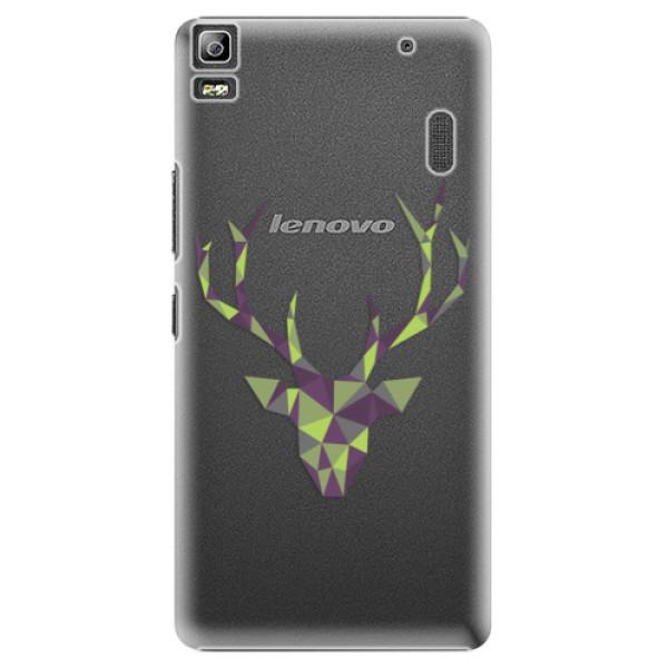 Plastové puzdro iSaprio - Deer Green - Lenovo A7000