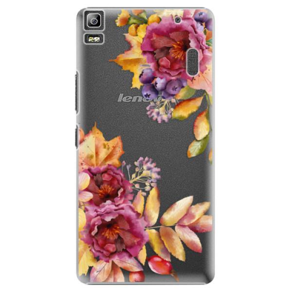 Plastové puzdro iSaprio - Fall Flowers - Lenovo A7000