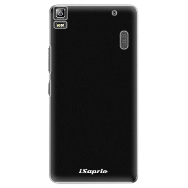 Plastové puzdro iSaprio - 4Pure - černý - Lenovo A7000