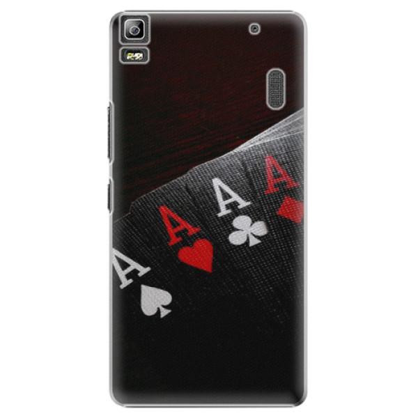 Plastové puzdro iSaprio - Poker - Lenovo A7000