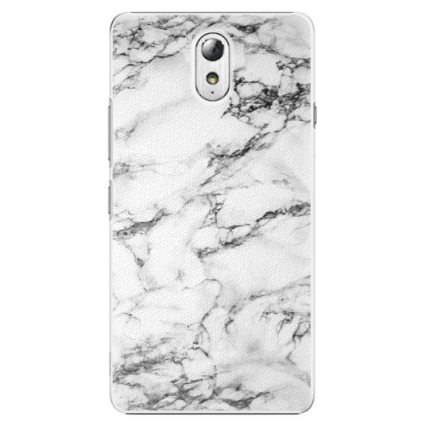 Plastové puzdro iSaprio - White Marble 01 - Lenovo P1m