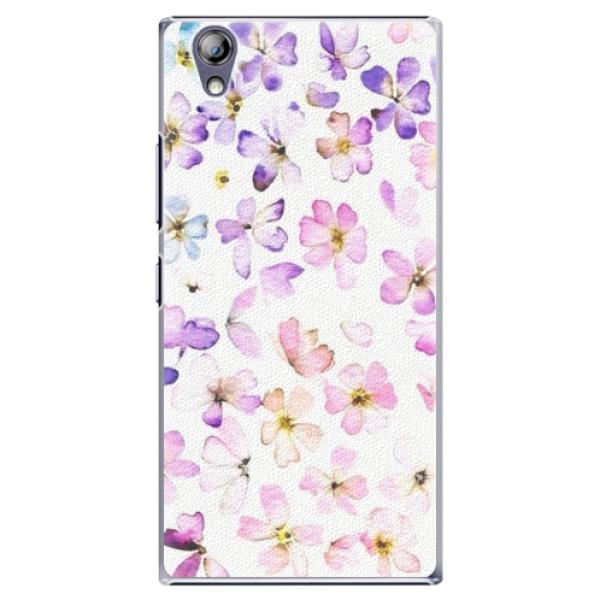 Plastové puzdro iSaprio - Wildflowers - Lenovo P70