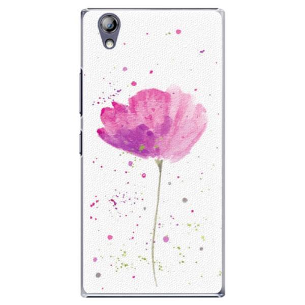 Plastové puzdro iSaprio - Poppies - Lenovo P70
