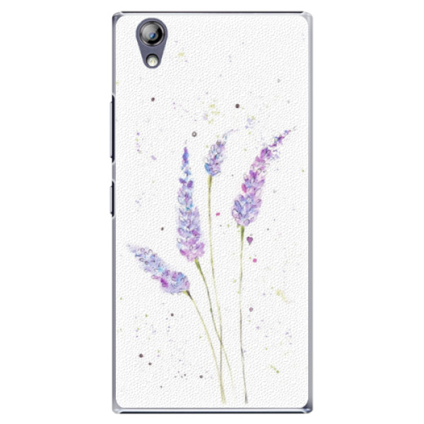 Plastové puzdro iSaprio - Lavender - Lenovo P70