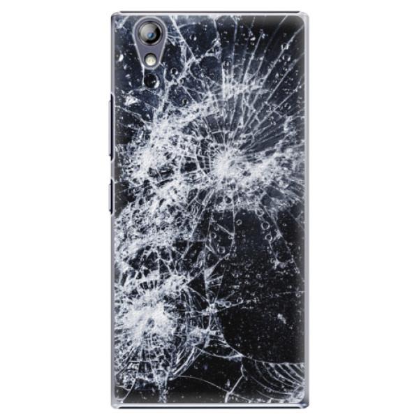 Plastové puzdro iSaprio - Cracked - Lenovo P70
