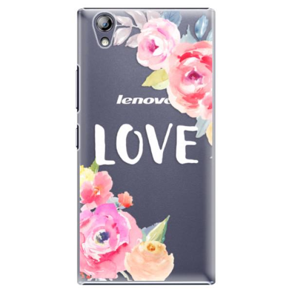 Plastové puzdro iSaprio - Love - Lenovo P70