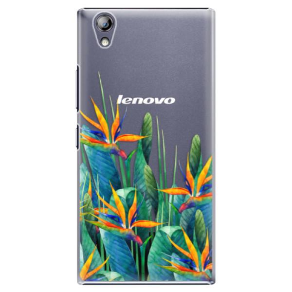 Plastové puzdro iSaprio - Exotic Flowers - Lenovo P70