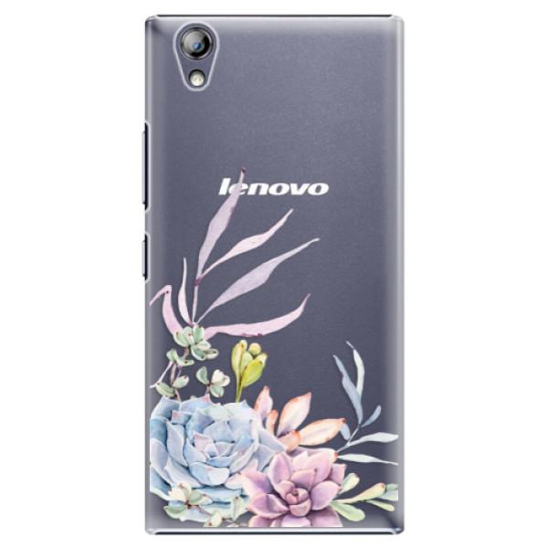 Plastové puzdro iSaprio - Succulent 01 - Lenovo P70