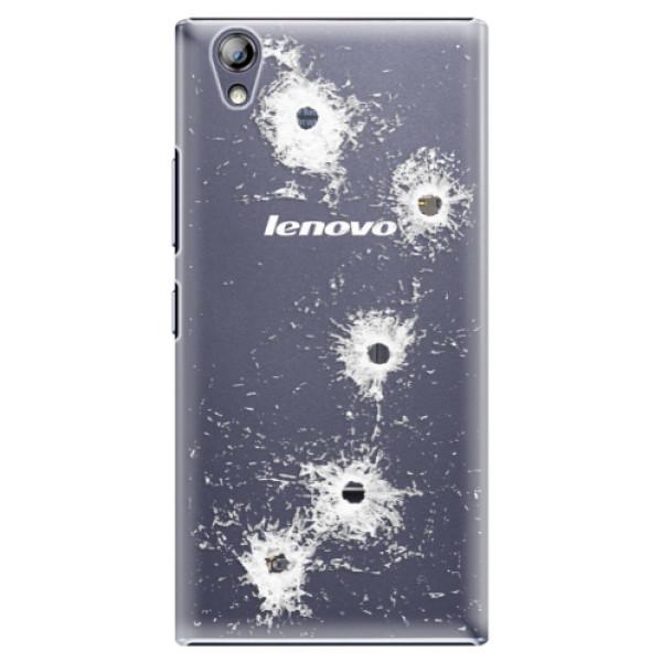 Plastové puzdro iSaprio - Gunshots - Lenovo P70