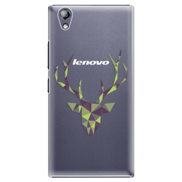 Plastové puzdro iSaprio - Deer Green - Lenovo P70