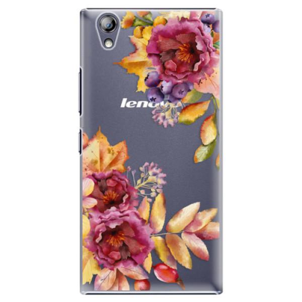Plastové puzdro iSaprio - Fall Flowers - Lenovo P70