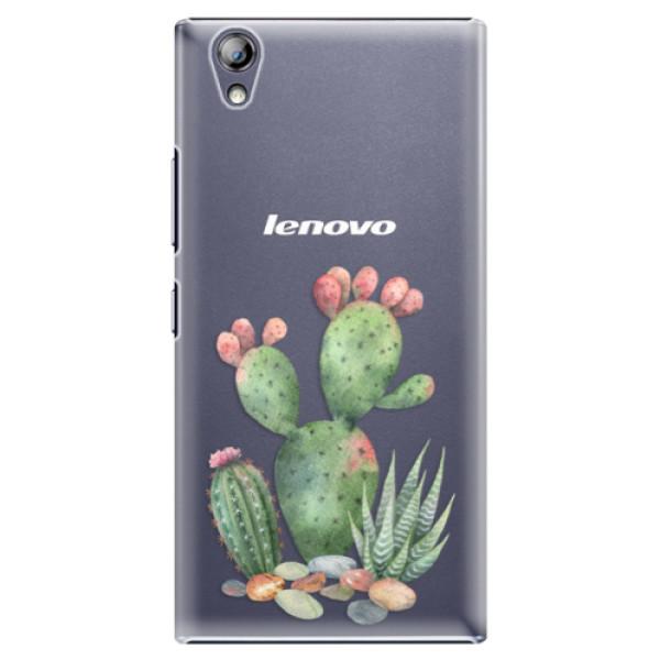 Plastové puzdro iSaprio - Cacti 01 - Lenovo P70
