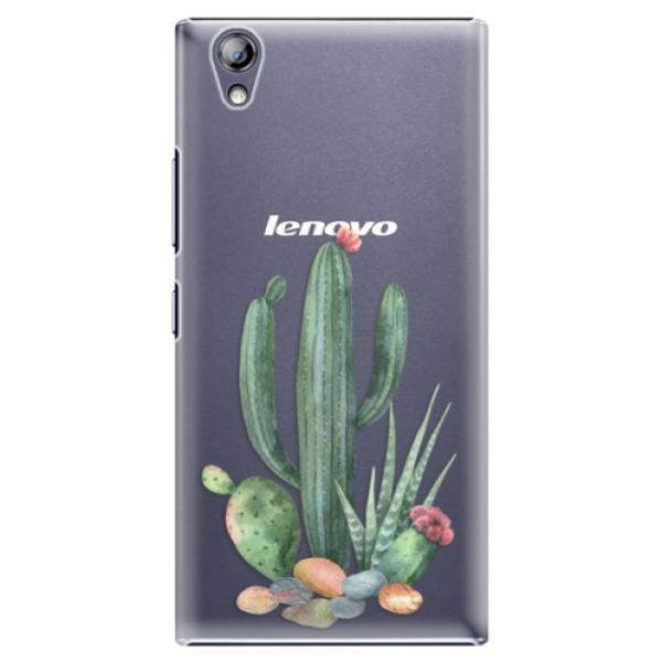 Plastové puzdro iSaprio - Cacti 02 - Lenovo P70