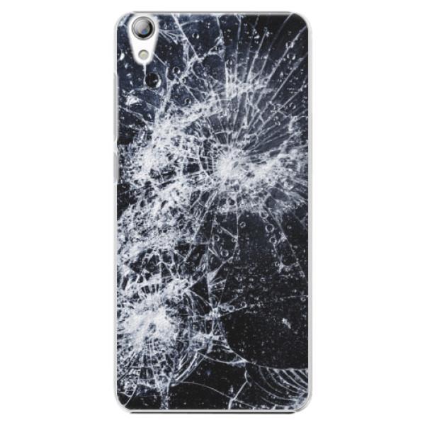 Plastové puzdro iSaprio - Cracked - Lenovo S850