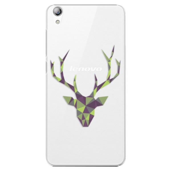 Plastové puzdro iSaprio - Deer Green - Lenovo S850