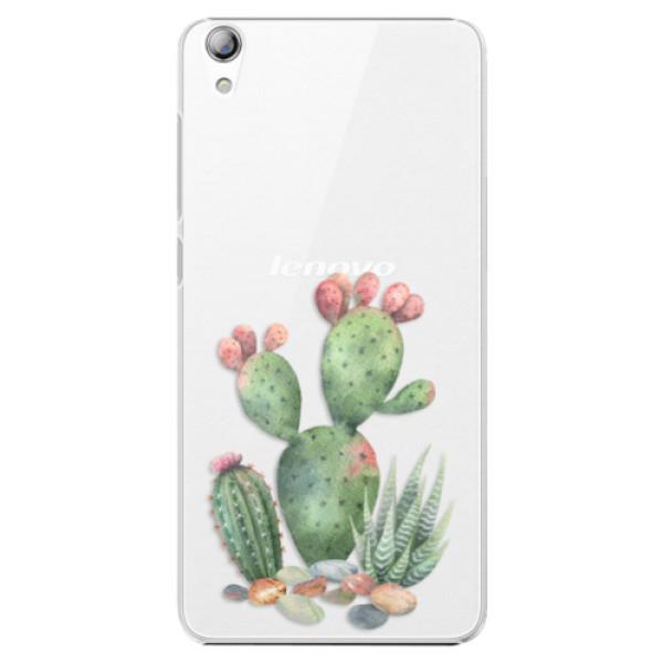 Plastové puzdro iSaprio - Cacti 01 - Lenovo S850