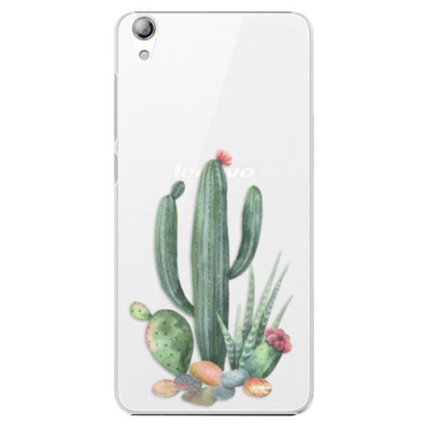 Plastové puzdro iSaprio - Cacti 02 - Lenovo S850