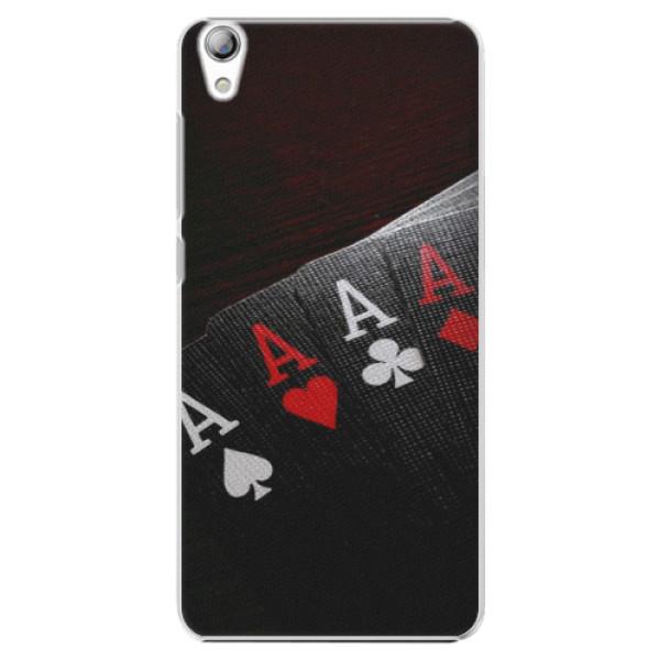 Plastové puzdro iSaprio - Poker - Lenovo S850