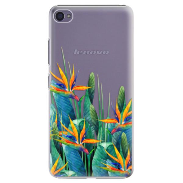 Plastové puzdro iSaprio - Exotic Flowers - Lenovo S90