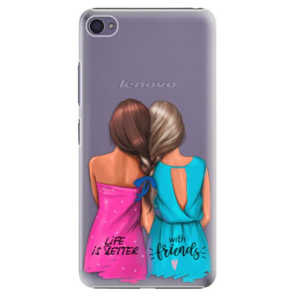Plastové puzdro iSaprio - Best Friends - Lenovo S90