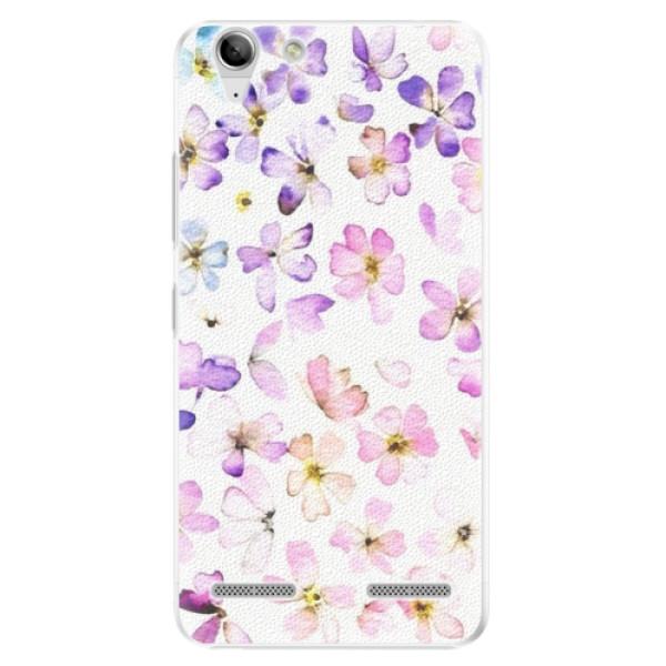 Plastové puzdro iSaprio - Wildflowers - Lenovo Vibe K5