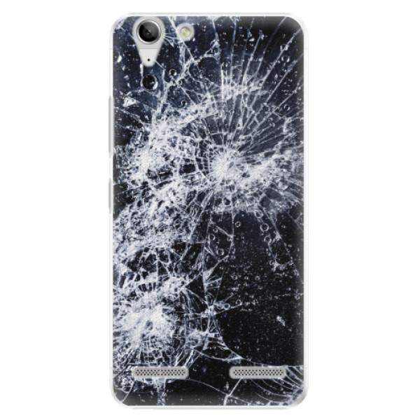 Plastové puzdro iSaprio - Cracked - Lenovo Vibe K5