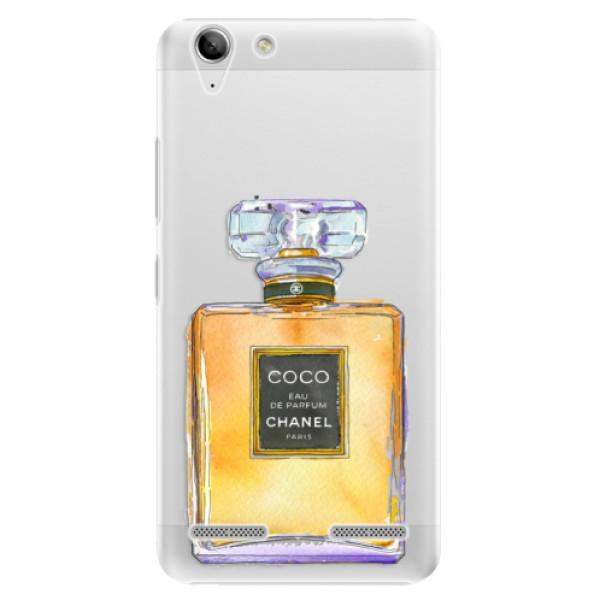 Plastové puzdro iSaprio - Chanel Gold - Lenovo Vibe K5