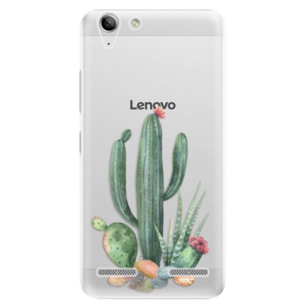 Plastové puzdro iSaprio - Cacti 02 - Lenovo Vibe K5