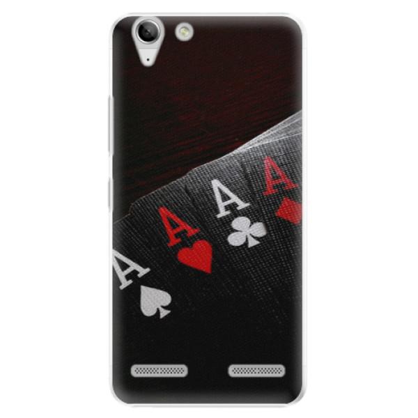 Plastové puzdro iSaprio - Poker - Lenovo Vibe K5