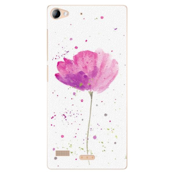 Plastové puzdro iSaprio - Poppies - Lenovo Vibe X2