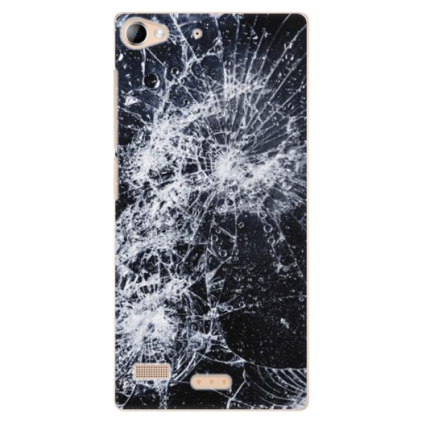 Plastové puzdro iSaprio - Cracked - Lenovo Vibe X2