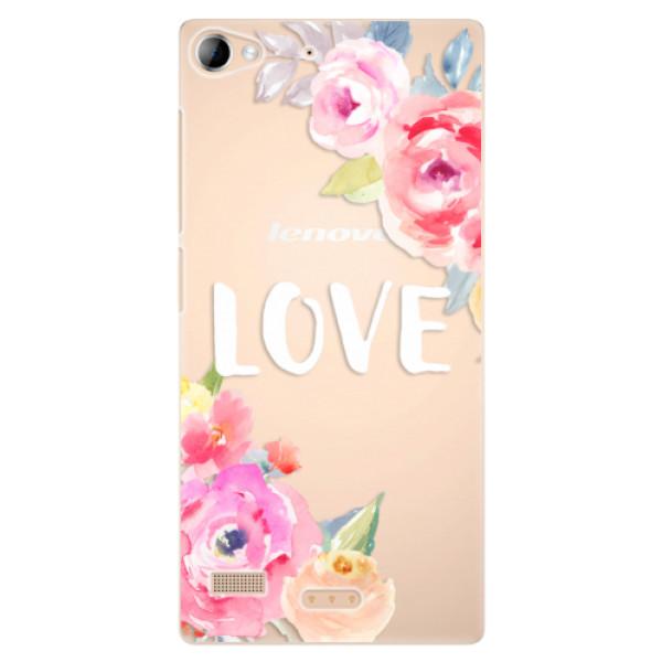 Plastové puzdro iSaprio - Love - Lenovo Vibe X2