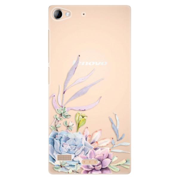 Plastové puzdro iSaprio - Succulent 01 - Lenovo Vibe X2