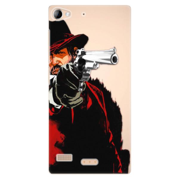 Plastové puzdro iSaprio - Red Sheriff - Lenovo Vibe X2