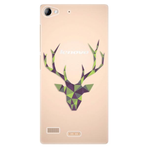 Plastové puzdro iSaprio - Deer Green - Lenovo Vibe X2