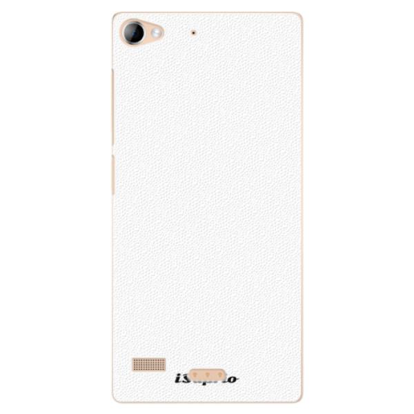 Plastové puzdro iSaprio - 4Pure - bílý - Lenovo Vibe X2