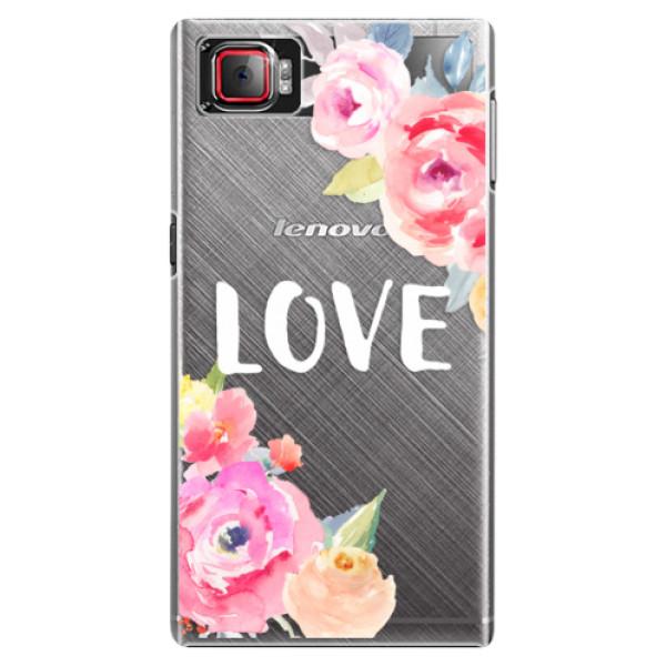 Plastové puzdro iSaprio - Love - Lenovo Z2 Pro