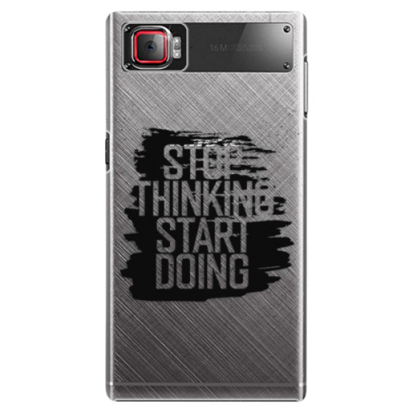 Plastové puzdro iSaprio - Start Doing - black - Lenovo Z2 Pro